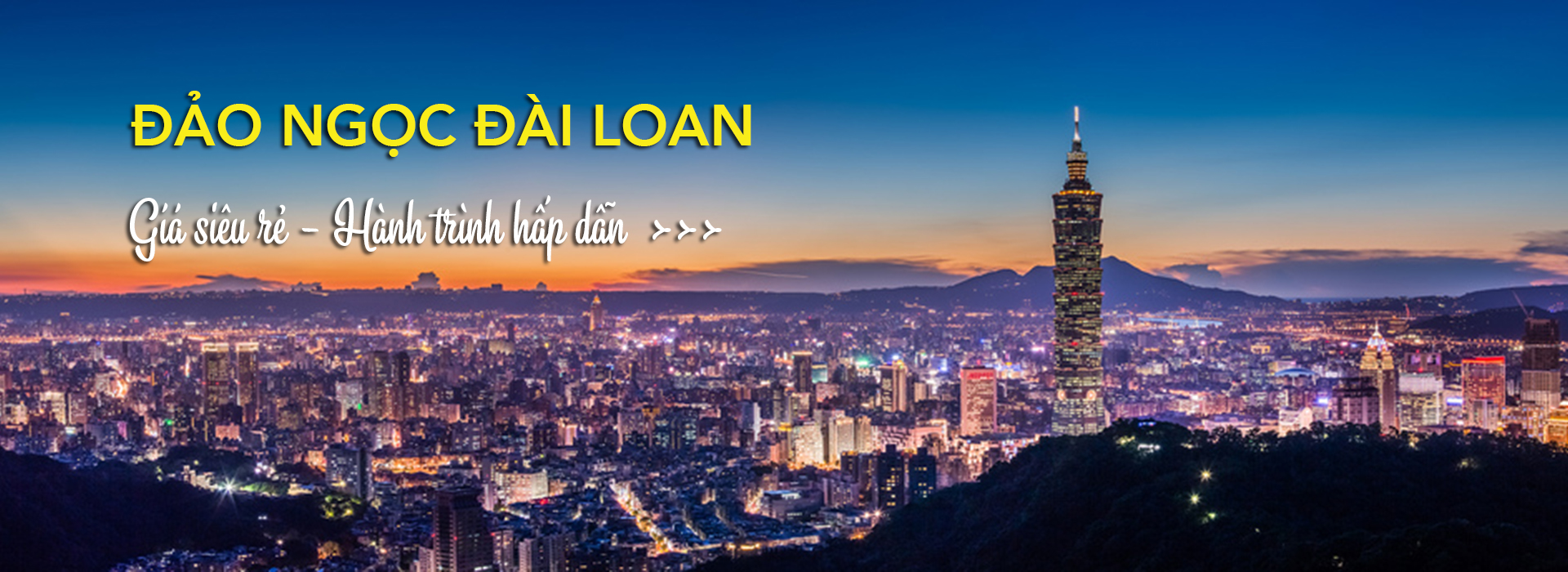 Tour du lịch Đài Loan