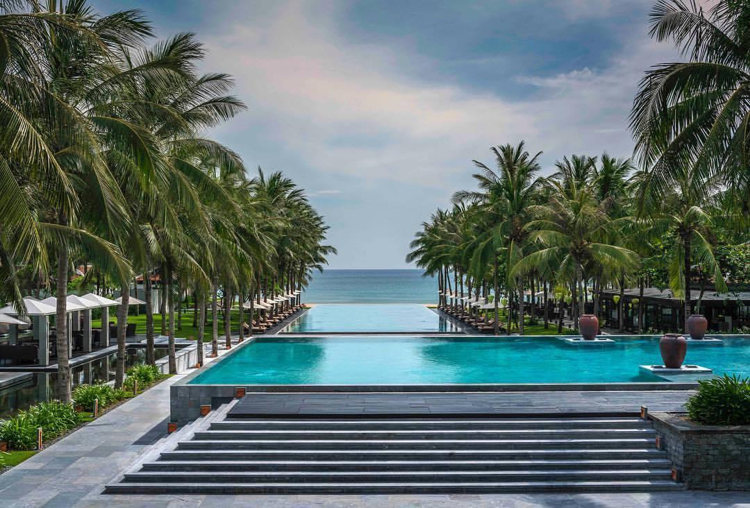 The Nam Hai Main Pool