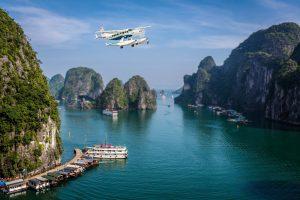 ngắm hạ long bằng thủy phi cơ