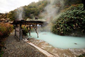 suối nước nóng ở Honshu