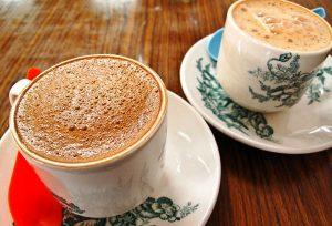 Cà phê trắng Malaysia