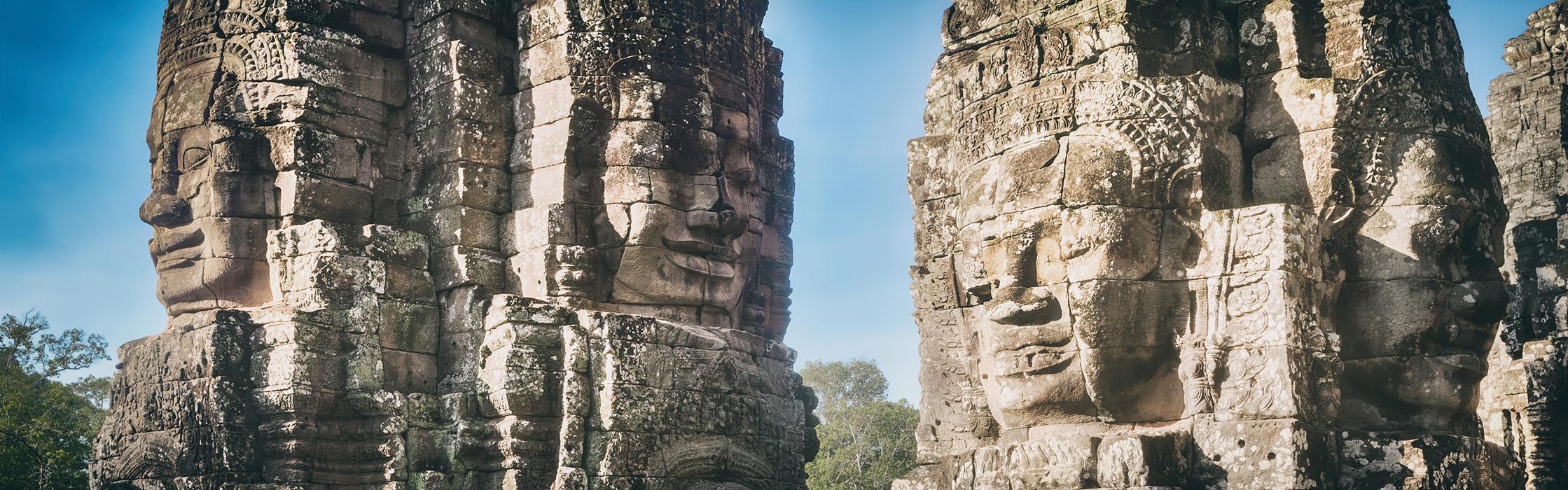 Bayon Face Siem Reap Cambodia