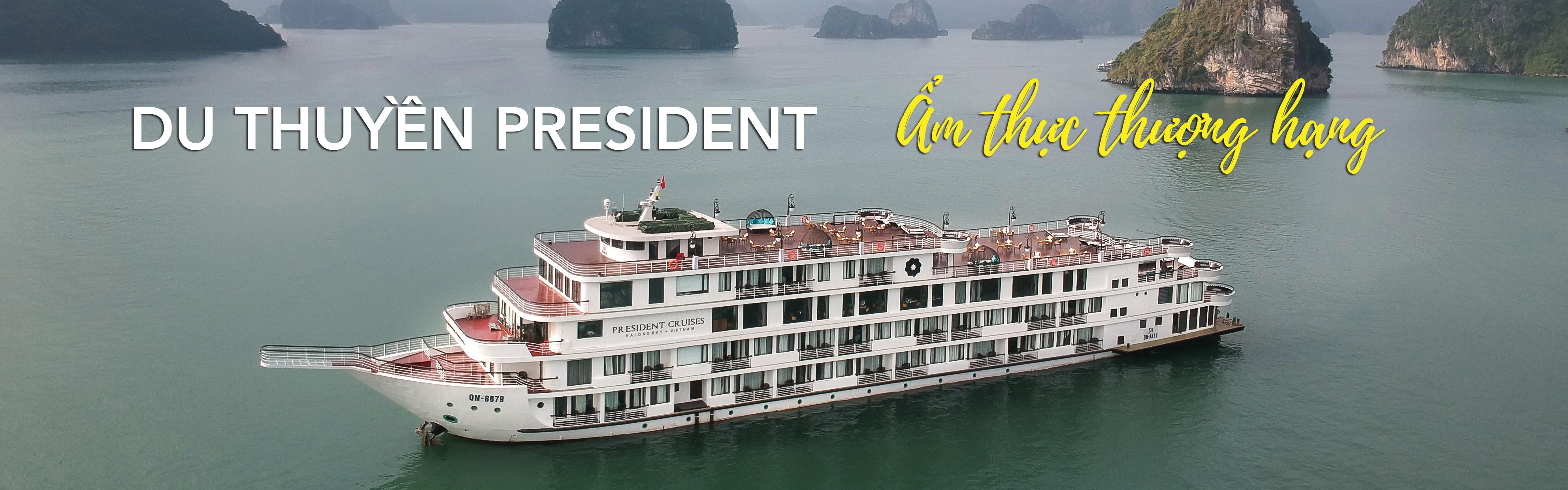 Du thuyền President