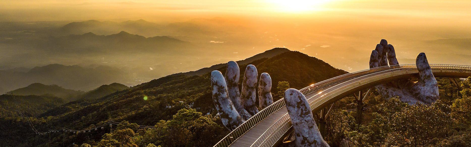 Golden Bridge Danang Ads