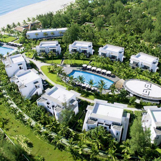 Melia Danang Beach Resort Overview