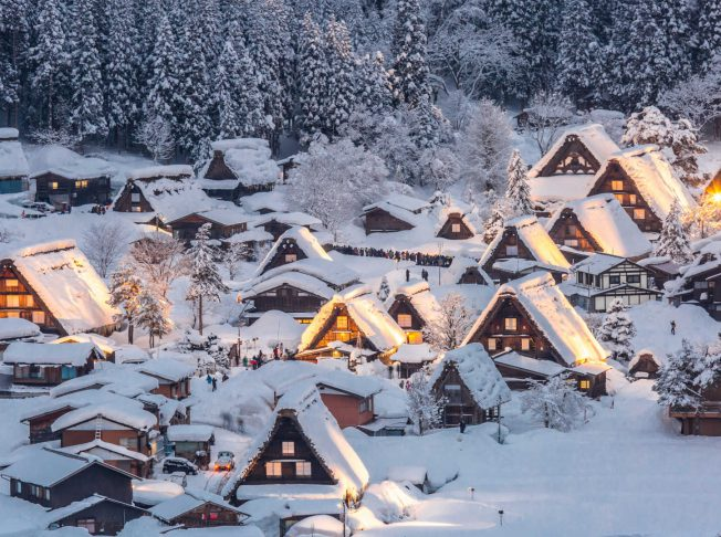 Tour du lịch Nhật Bản mùa đông
