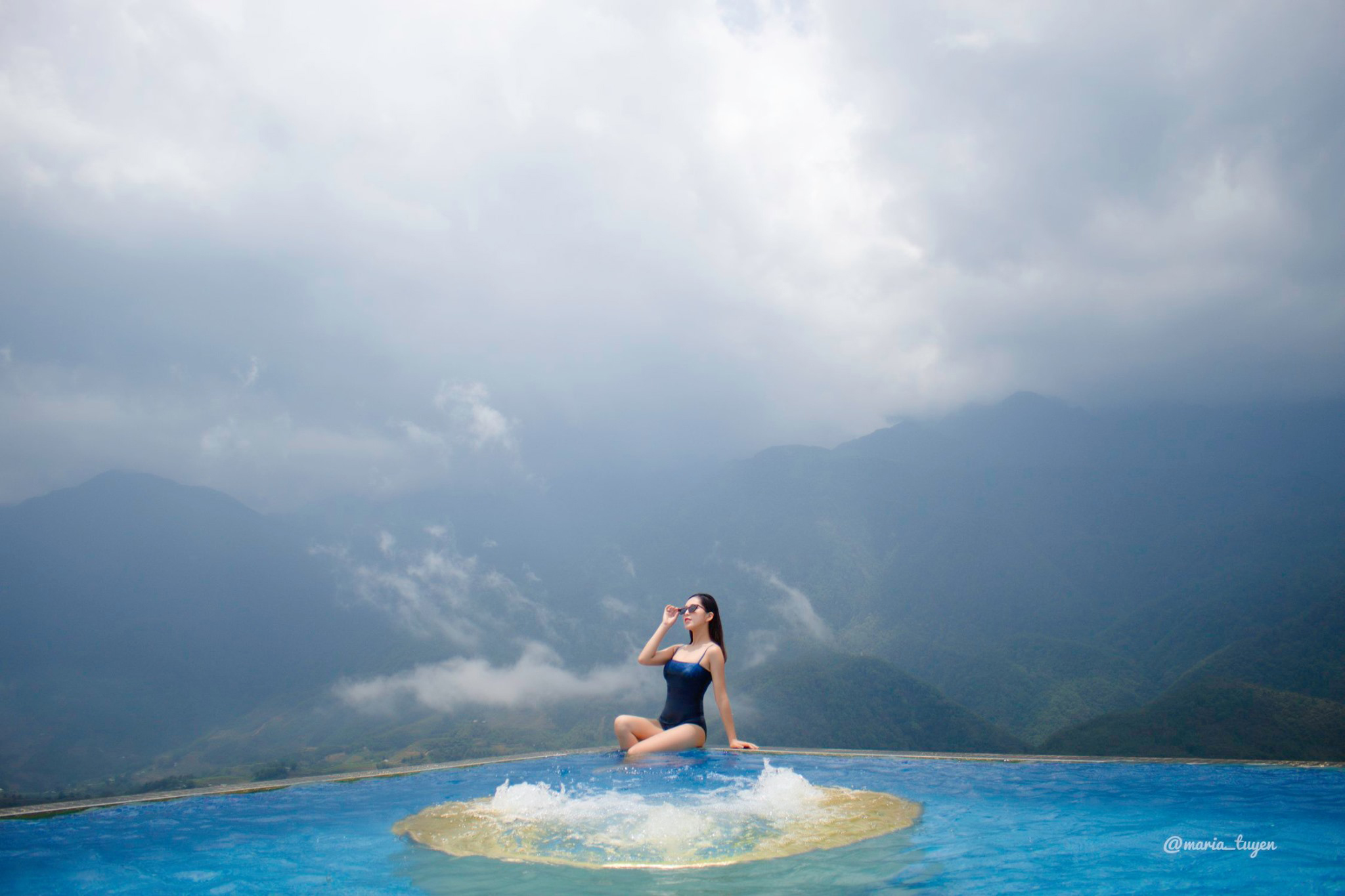 Pistachio Hotel Sapa Hồ Bơi dát vàng