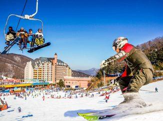 trượt tuyết hàn quốc