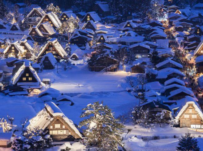 Làng cổ tích Shirakawago