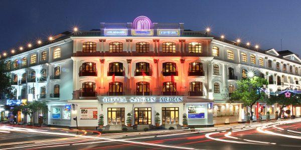 Hotel Saigon Morin Morin by night