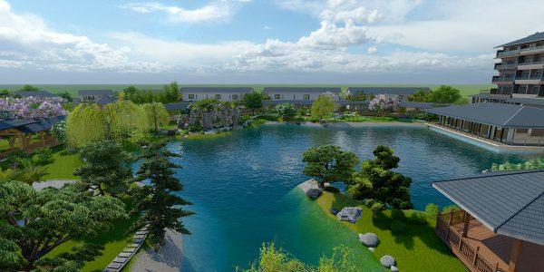 Kawara Mỹ An Onsen Resort
