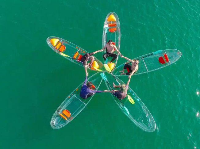 Emperor Cruises Nha Trang Kayaking