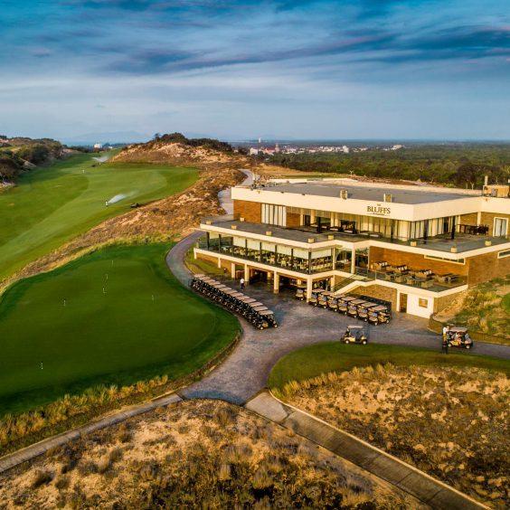 The Bluffs Ho Tram Trip Golf Course