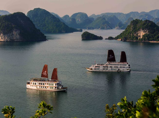 Heritage Line Halong Bay Excursion Hiking Hill Top
